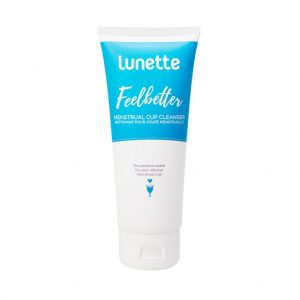 lunette feelbetter 100ml cup liquid cleanser