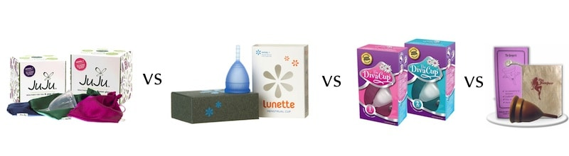 menstrual cup comparison