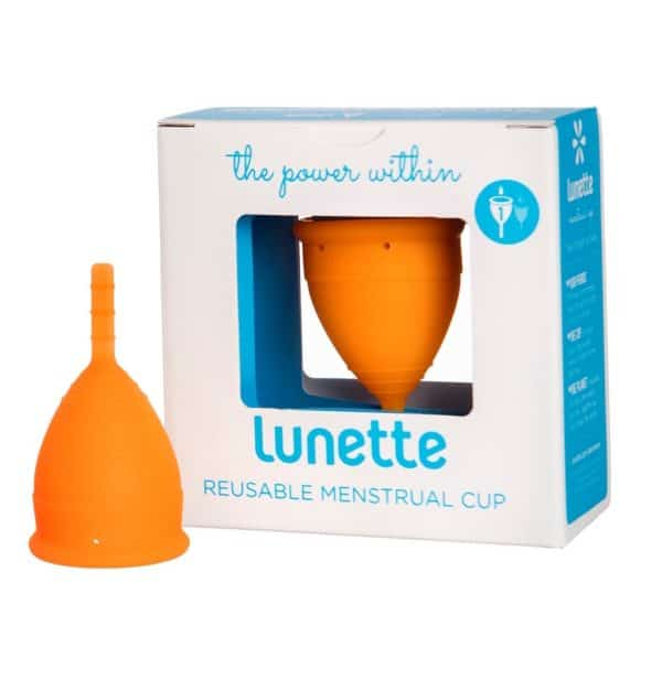 Coral Lunette Menstrual Cup