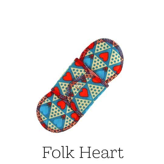 GladRags Pantyliner Folk Heart