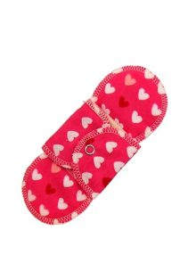 GladRags flowmance pink reusable cotton pantyliner