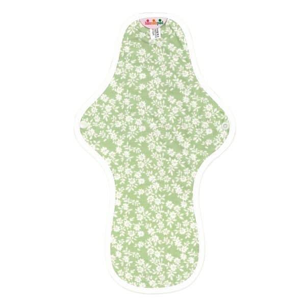 Hannahpad Large:Overnight Organic cotton pad Innocent Green