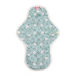 Hannahpad Medium Organic Cotton Pad Edelweiss Blue