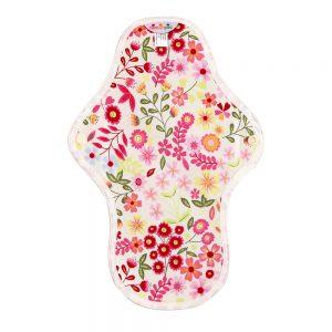 Hannahpad Medium Organic Cotton Pad Flower Garden Pink
