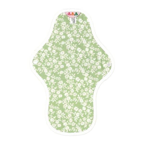 Hannahpad Medium Organic Cotton Pad Innocent Green
