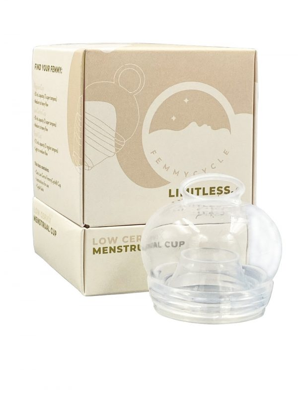 FemmyCycle Menstrual Cup Low Cervix | MCA Online