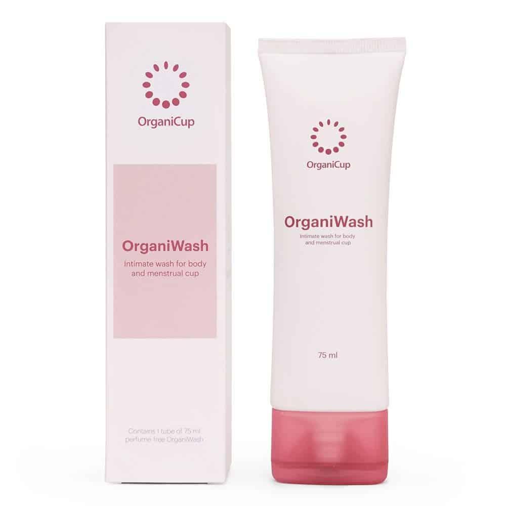 OrganiWash menstrual cup cleanser