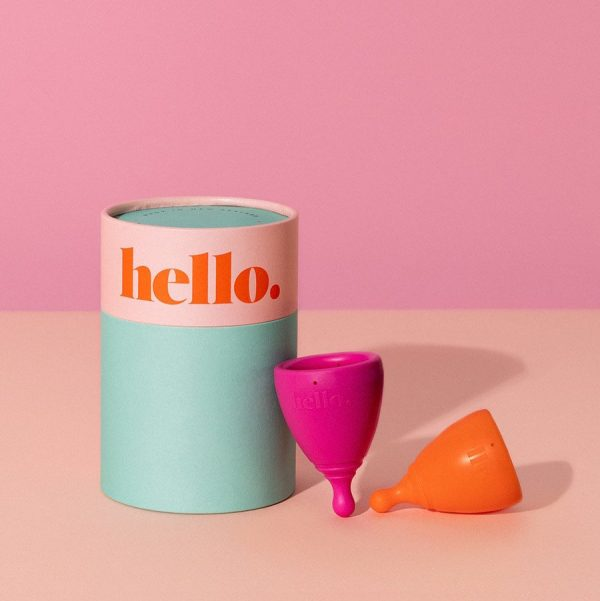 Hello Cup Due Box Orange Fuchsia