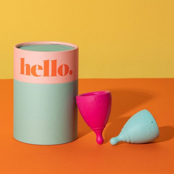 Hello Cup Duo Box Blue Fuchsia