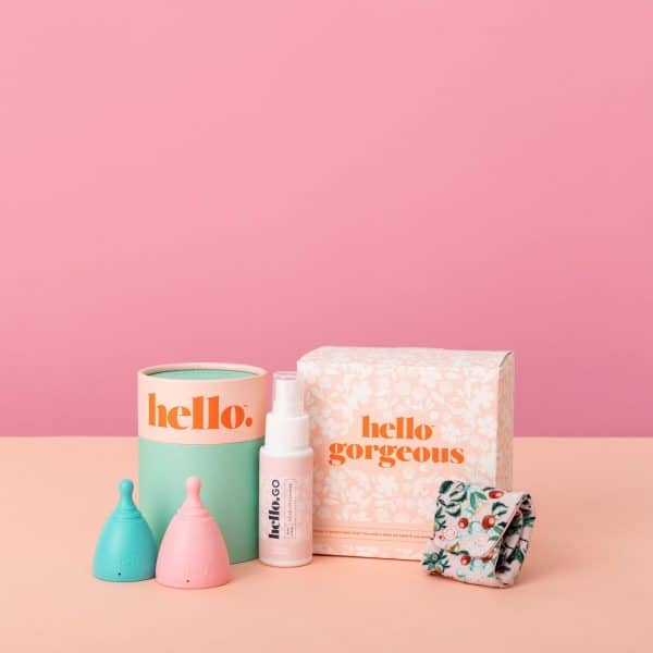 Hello Cup Mini Starter Kit S:M and Large
