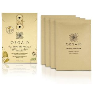Orgaid Organic Sheet Masks 4 Pack