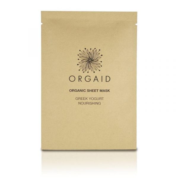 Orgaid Yogurt Single Sheet Mask